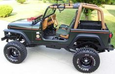 Customised Jeep