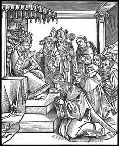 The Pope Makes Others Kiss His Feet early century Use of printing press Protestant Propaganda against Catholics New Pope, Protestant Reformation, Great Awakening, Printing Press, 16th Century, Statue, History, Prints, Byzantine