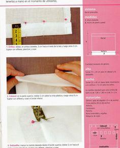 Revistas de manualidades Gratis: Como hacer cortinas paso a paso