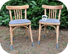 Relooking chaises bistrots