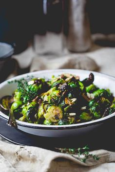 Blog post at Healthy Seasonal Recipes : I bring these roasted Brussels Sprouts with Balsamic and Thyme to you today because they are long overdue and I have a debt to settle in tha[..]