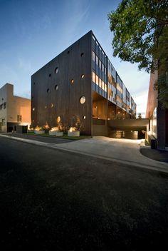 + Arquitetura :   Projeto da Jackson Clements Burrows, prédio localizado em Melbourne (Australia).