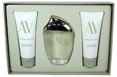 Adrienne Vittadini 3pc Perfume Gift Set , 3.0 Oz Edp, 3.3 Oz Body Lotion. Product DescriptionLaunched by the design house of Adrienne Vittadini in 1994, AV is classified as a refreshing, flowery fragrance. This feminine scent possesses a blend of oakmoss, blooming fresh cut flowers as well as watery notes of the fresh cool sea and the pure ocean air. It is recommended for daytime wear.