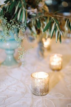 Candles: http://www.stylemepretty.com/little-black-book-blog/2015/01/13/elegant-ashford-estate-ballroom-wedding/ | Photography: Kay English - http://www.kayenglishphotography.com/