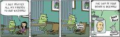 ❤ =^..^= ❤   Scary Gary Comic Strip, October 30, 2012 on GoComics.com