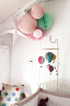 Une chambre de bébé choubidou