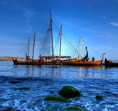 Viking ships | by underdog9