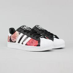 zapatillas adidas superstar floral