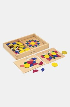 Melissa & Doug Pattern Blocks available at #Nordstrom
