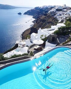 Santorini, Greece Photo by Vacation Places, Vacation Spots, Places To Travel, Places To Go, Santorini Hotels, Santorini Travel, Santorini Greece, Hotels And Resorts, Best Hotels