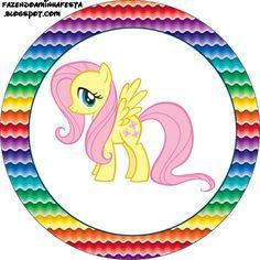 Ideas y material gratis para fiestas y celebraciones Oh My Fiesta!: Imprimibles de My Little Pony 4.