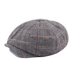 faf598f5acf Mens British Style Gentleman Octagonal Beret Hats Casual Newsboy Painter  Forward Caps is hot sale on Newchic Mobile.