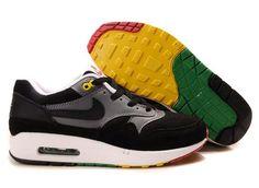 Nike Air Max 87 Mens Shoes Black/White