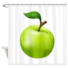 Apple Shower Curtain -  Aug 18
