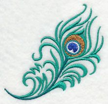 Proud as a Peacock Feather 5 design (K5830) from www.Emblibrary.com