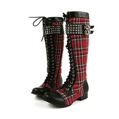 Abbey Dawn Rock On Tall Boot Collection... ❤ liked on Polyvore featuring shoes, boots, high boots, tall boots, rock boots, summer boots and abbey dawn