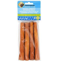 Greenbrier Kennel Club Smoked Porkhide Retriever Rolls, 4-ct. Pack