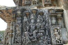 Unknown Ancient Historical Tourist Destinations in India: Halebidu, Beautifully Carved Hoysaleswara Temple in Karnataka Ajanta Caves, Ruined City, Mughal Empire, India Travel, India Trip, Modern City, St Francis, Karnataka, 14th Century
