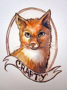 Crafty Fox print!