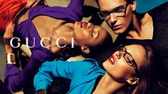 In a glamorous display of campaign overtime, Gucci reveals its spring 2011 accessories campaign starring Karmen Pedaru, Joan Smalls, Nikola Jovanovic and Gen… Karmen Pedaru, Gucci Eyewear, Gucci Spring, Asia, Joan Smalls, Gucci Accessories, Fashion Killa, Spring Summer, Poses