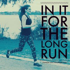 Fitness. Stay with it for the long run.  #health #fitness #motivation #running #fit #inspiration