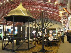 100% design exhibits ,pinned by Ton van der Veer