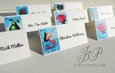 Wedding Stationery - Escort Card's - Mexico Loteria