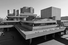 Cricket For Arts And Crafts British Architecture, London Architecture, School Architecture, Royal National Theatre, Architectural Association, Ludwig Mies Van Der Rohe, Le Corbusier, Old Art, Brutalist