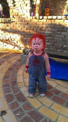 Chuckie halloween costume