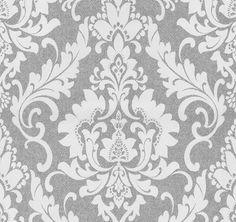 Details Zu P+S Tapete Casual Chic 13351 20 Vlies Ornamente Barock Struktur Weiß  Grau