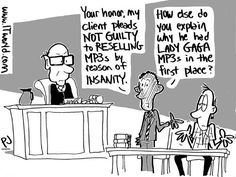 Get caught reselling MP3s? Plead insanity.  That and tech jokes in this week's Weekly Hash.  http://www.itworld.com/cloud-computing/351124/weekly-hash-april-5-2013?source=itwpinterest  Image credit: ITworld/Phil Johnson