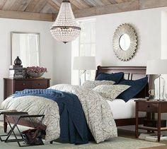 Crosby Bed Cozy Bedroomcostal Bedroombedroom Decormoroccan Inspobedroom Colorsbedroom Ideaspottery Barn