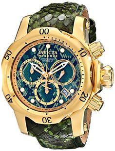 Invicta Women's 14968 Venom Analog Display Swiss Quartz Green Watch Invicta http://www.amazon.com/dp/B00QRVMCAC/ref=cm_sw_r_pi_dp_1JxQub0CYKNJ7