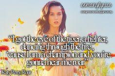 Roar- Katy Perry