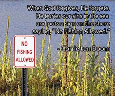 No Fishing-Corrie ten Boom