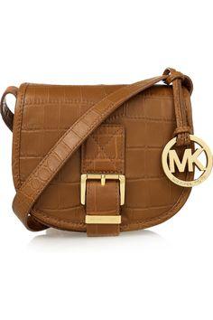 MICHAEL Michael Kors Medium Saddle Bag Messenger