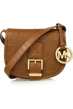 MICHAEL Michael Kors Medium Saddle Bag Messenger