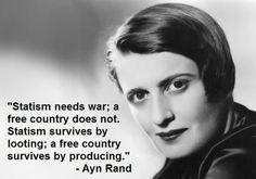 Ayn Rand--wish the United States would subscribe.