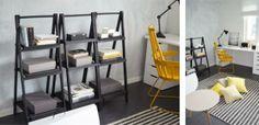 Hyvinkään Asuntomessut, kohde 15 @Asuntomessublogit Ladder Bookcase, Shelving, Tees, Interior, Home Decor, Shelves, T Shirts, Decoration Home, Indoor