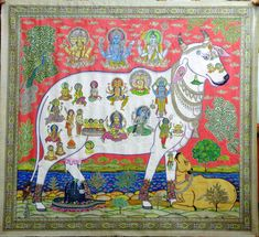 Паттачитра /Pattachitra – 60 фотографий Wow Painting, Artist Painting, The Mahabharata, Indian Folk Art, Krishna Painting, Traditional Paintings, Craft Work, Livestock, Artist At Work