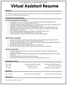 The 3 Essentials of a Killer Virtual Assistant Resume - Nice. Resume Skills, Resume Tips, Resume Ideas, Resume Examples, Real Estate Training, Finance, Administrative Assistant, Virtual Assistant Services, Career Advice