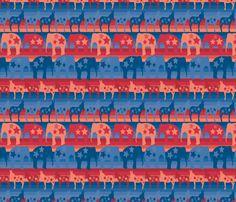 parade fabric by kociara on Spoonflower - custom fabric
