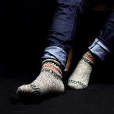 oh yeah. every winter my kids will wear awesome wool socks and sweaters.