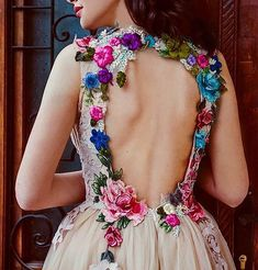 Designer Spotlight: Chotronette & Why White Wedding Dresses Are Overrated Embroidery Fashion, Embroidery Dress, White Wedding Dresses, Prom Dresses, Formal Dresses, Floral Wedding, Pretty Dresses, Beautiful Dresses, Mexican Dresses