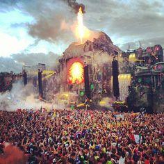 Tomorrowland 2013, Main Stage