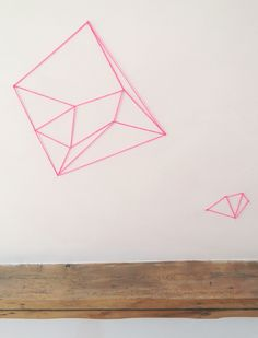 Geometrical Wall Decoration - How-to