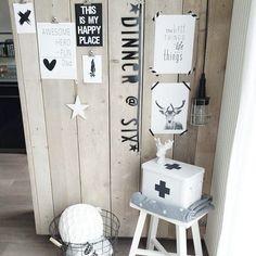 banner: a little lovely co Interior Accessories, Interior Styling, Black Banner, Scandinavian Interior Design, Piece A Vivre, Interior Garden, Beautiful Interiors, Furniture Makeover, Home Kitchens