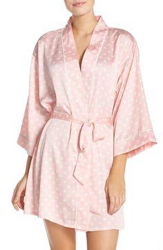 kate spade new york print charmeuse robe Kate Spade Pajamas 27fe7337a