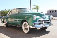 Beautiful 1952 Chevrolet Deluxe