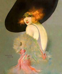 by Henry Clive (1882 -1960) - Harem of Peacocks  http://haremofpeacocks.tumblr.com/